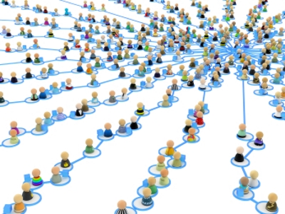 Cartoon Crowd Links, Supply Web Center